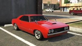 Red Declasse Vigero GTA 5