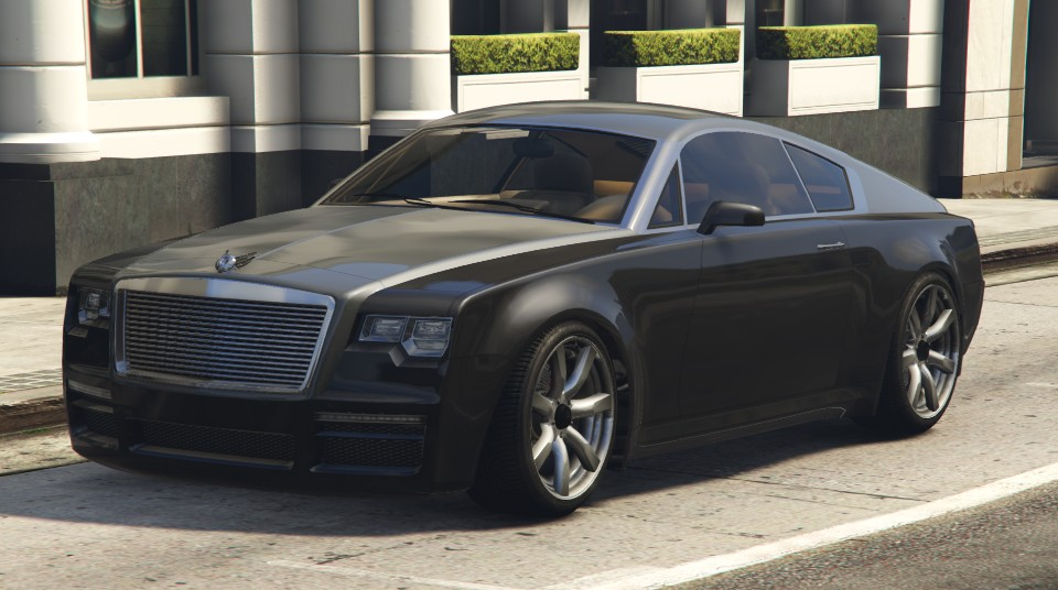 Black Enus Windsor GTA 5