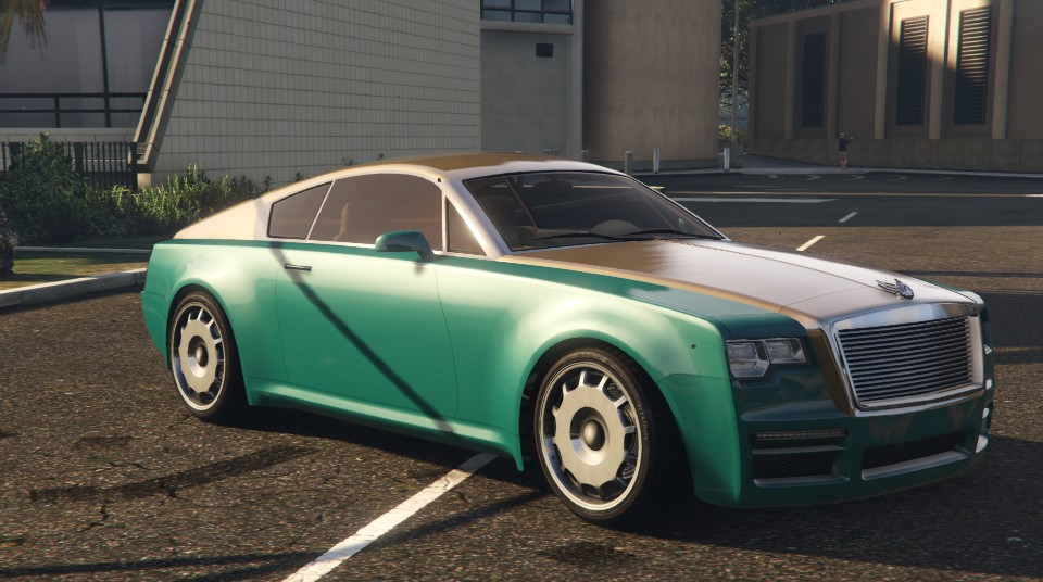 Enus Windsor GTA 5 Front View