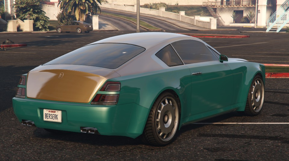 Enus Windsor GTA 5 Rear View