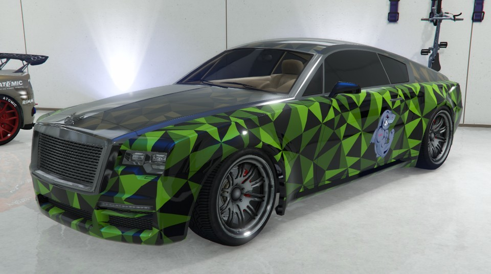 Enus Windsor GTA 5 Sessanta Nove Geometric