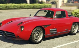 Red Benefactor Stirling GT GTA 5
