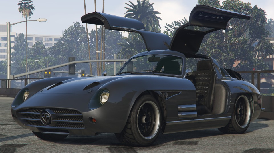 Benefactor Stirling Gt Gta Cars
