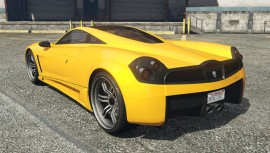 Yellow Pegassi Osiris GTA 5 Rear