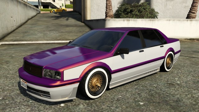 Albany Primo GTA 5 Custom Paintjob