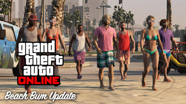 Beach Bum Content Update GTA Online