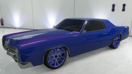 Blue Albany Virgo in Garage