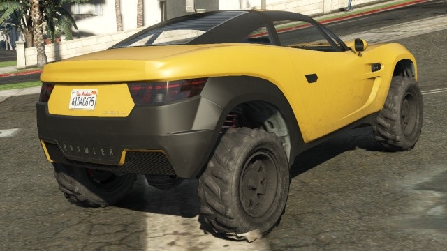 Coil Brawler GTA 5 Rear Quarter View