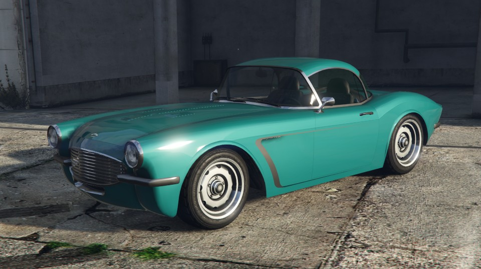 Coquette BlackFin GTA 5 Front Quarter View