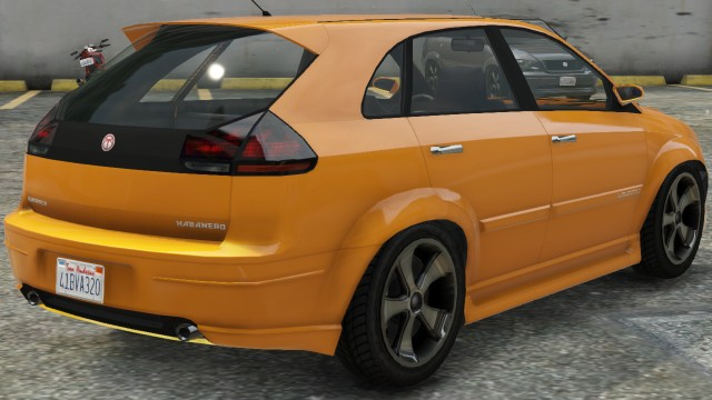 Emperor Habanero GTA 5 Rear View