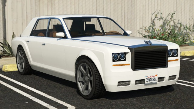 Enus Super Diamond GTA 5 Front View