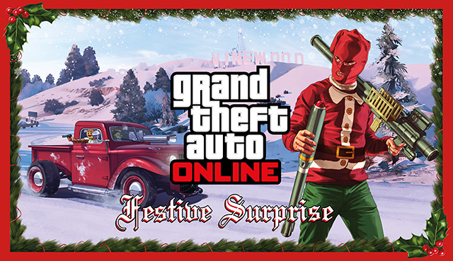 Festive Surprise Update GTA Online