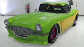 Green Coquette BlackFin in Garage