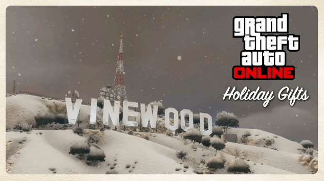Holiday Gifts DLC GTA Online