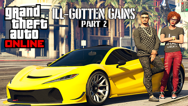 GTA 5 Ill Gotten Gains Update Part 2