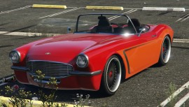Orange Invetero Coquette Blackfin GTA 5