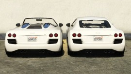 Obey 9F and 9F Cabrio Compare Rear View
