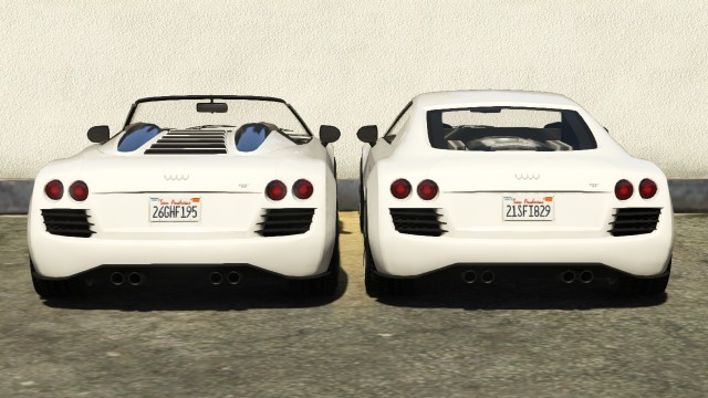 Obey 9F and 9F Cabrio Compare Rear View | GTA 5 Cars