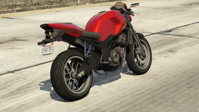 Pegassi Ruffian GTA 5 Rear View