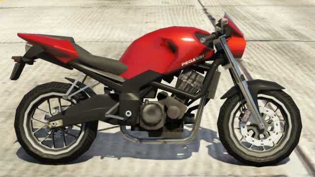 Pegassi Ruffian GTA 5 Side View