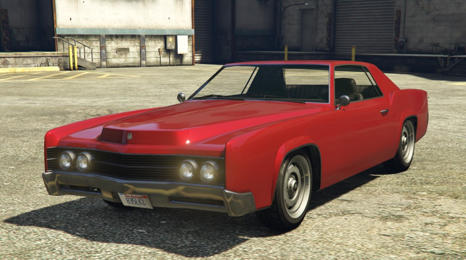 Red Albany Virgo GTA 5 Front View