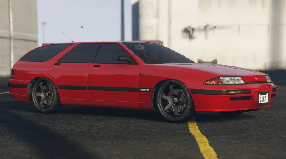 Red Zirconium Stratum GTA 5 Front Quarter View