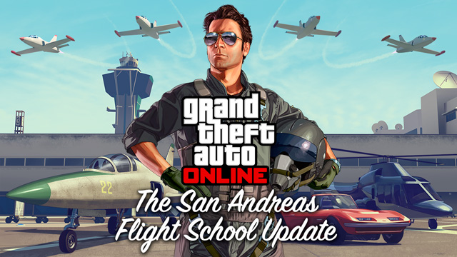 San Andreas Flight School Update GTA Online