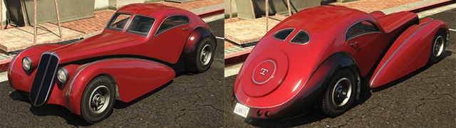 Top 10 Cars in GTA 5 - Truffade Z-Type