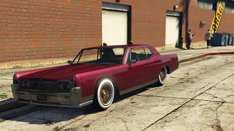Vapid Chino GTA 5 Front View