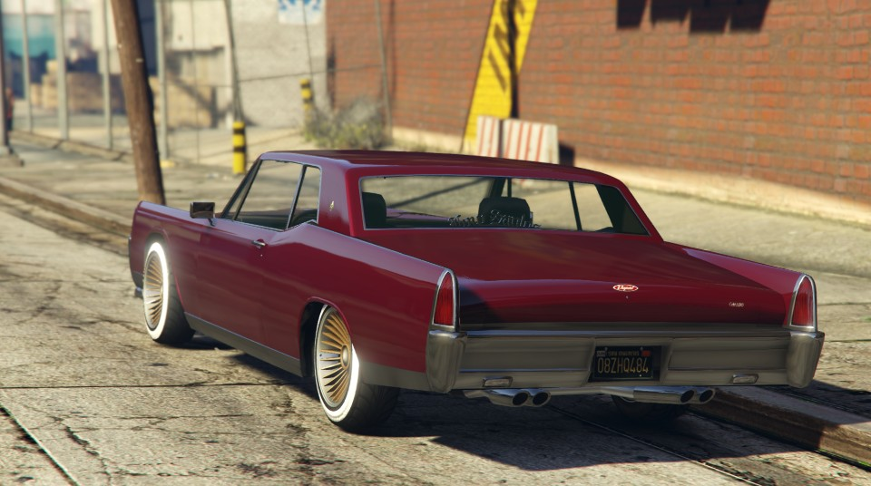 Vapid Chino GTA 5 Rear View