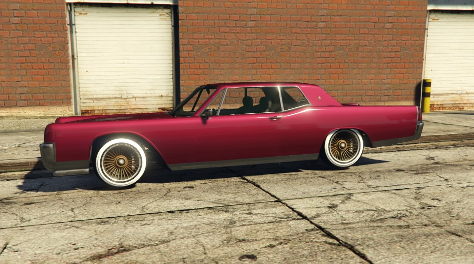 Vapid Chino GTA 5 Side View