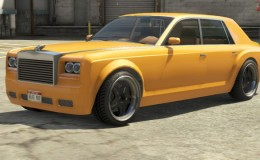 Yellow Enus Super Diamond GTA 5