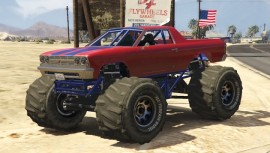 Cheval Marshall Monster Truck GTA 5 Front View
