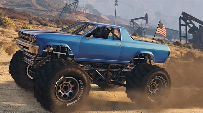Cheval Marshall Monster Truck GTA 5