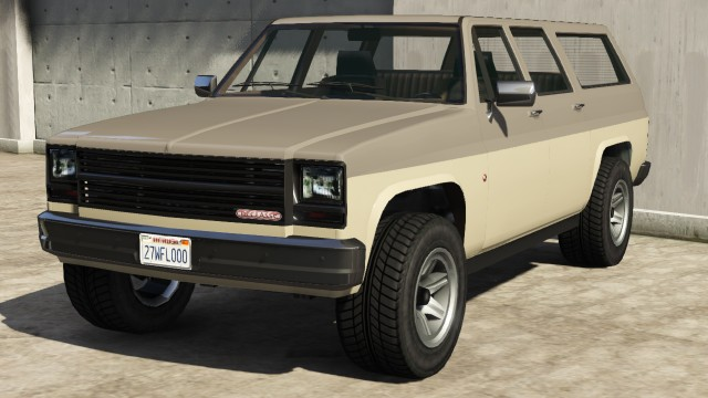 Declasse Rancher XL GTA 5 Front View