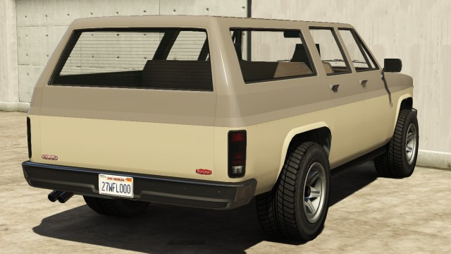 Declasse Rancher XL GTA 5 Rear View