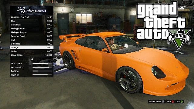 Gta  Cars And Selling Prices