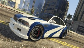 BMW M3 GTR E46 Most Wanted GTA 5 Front