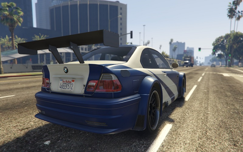 BMW M3 GTR E46 Most Wanted GTA 5 Rear