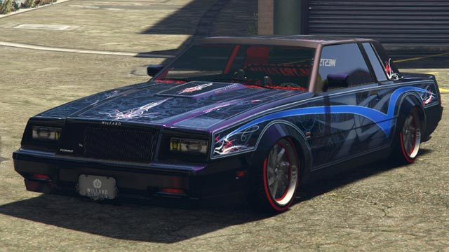 Willard Faction Gta Cars