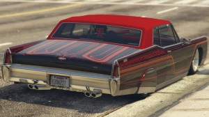 Vapid Chino Customized GTA 5 Online Hydraulics Rear View