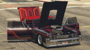Vapid Chino Customized with Supercharger GTA 5 Online Open All Doors