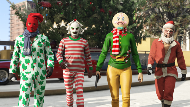 GTA Online New Santa outfits and a new collection of snug Pajamas