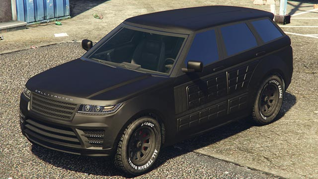 Gallivanter Baller LE Armored GTA 5 Online