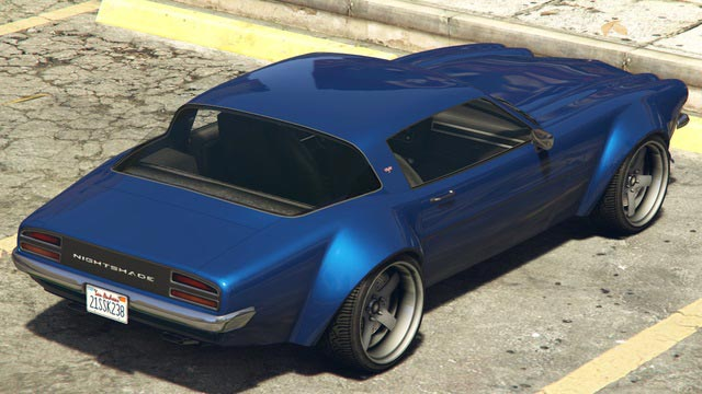 Imponte Nightshade GTA 5 Online Rear View