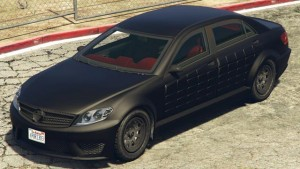 Schafter LWB Armored GTA 5 Online Front View