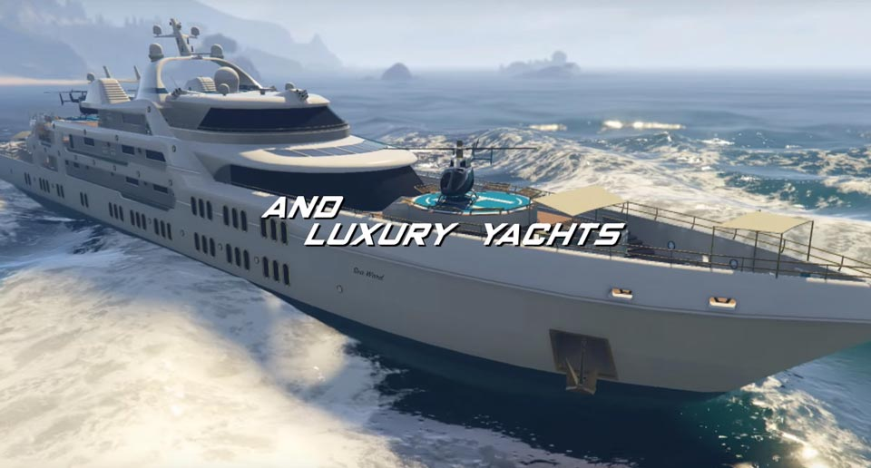 Super Luxury Yacht GTA 5 Online Executives and Other Criminals