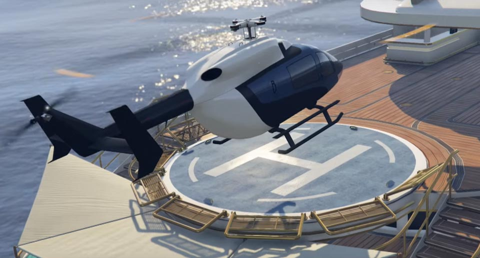 New SuperVolito Carbon helicopter GTA 5 Online Executives and Other Criminals