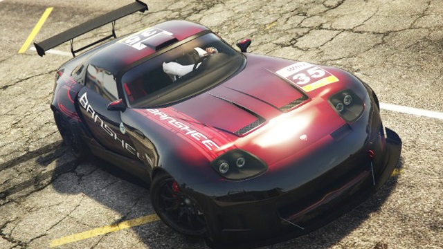 Bravado Banshee 900R GTA 5 Top View