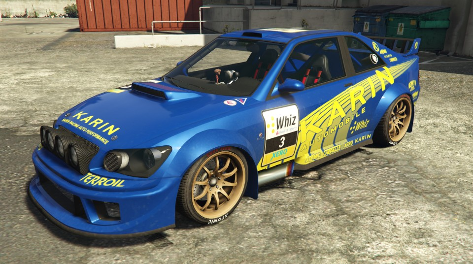 Karin sultan rs gta 5 cars Custom car designer online
